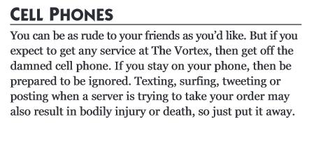 Regeln im Vortex