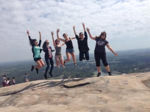 Gipfel des Stone Mountain