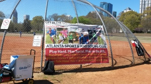 The Atlanta Sports & Social Club organizes sporting events all over town.