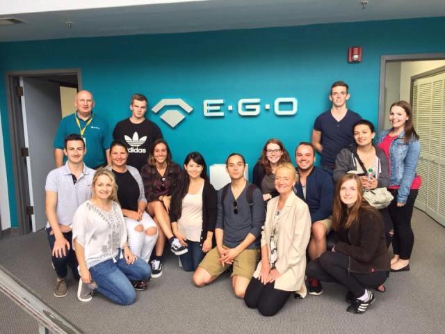 Company Visit EGO