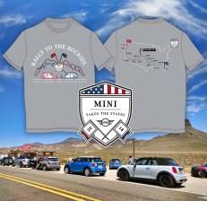 """T-Shirt Entwurf """"Mini Takes The States 2018"""""""
